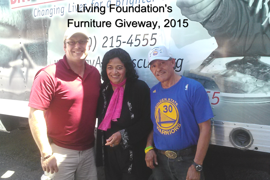 furniture giveaways, living foundation